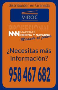 Más información sobre Tableros Viroc en Maderas Medina y Navarro