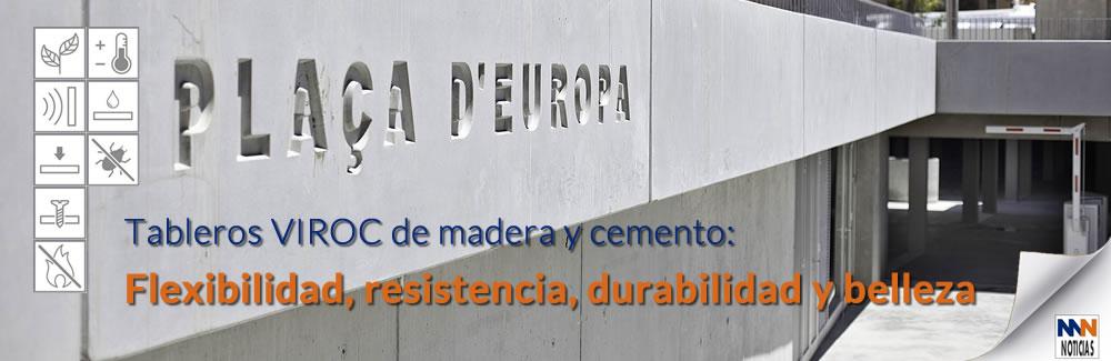 Tableros Viroc de madera y cemento en Maderas Medina y Navarro