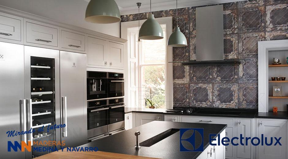 Imagen de portada con una cocina Electrolux