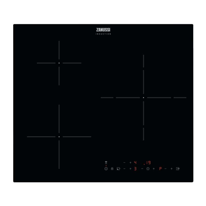 Placa de inducción 3 zonas Zanussi ZITX633K